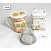 (kubek) Pierniczki 0,25l z sitkiem i przykrywką
