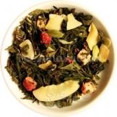 (biała,zielona,Oolong) Zimowa Zawierucha (truskawka i kardamon)