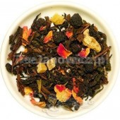(czerwona) Oolong Shalimar (marakuja i róża)
