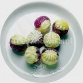 (słodycze) Bonbons o smaku truskawki i wanilii (bez cukru)