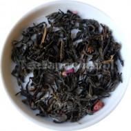 (zielona) China green tea rose Congou (płatki róży)