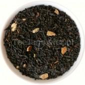 (czarna) Herbata przy kominku  BIO (pomarańcza i imbir)