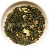 (zielona) Poranek z Tee Janowicz (cytryna, imbir,matcha, chlorella, guayusa)