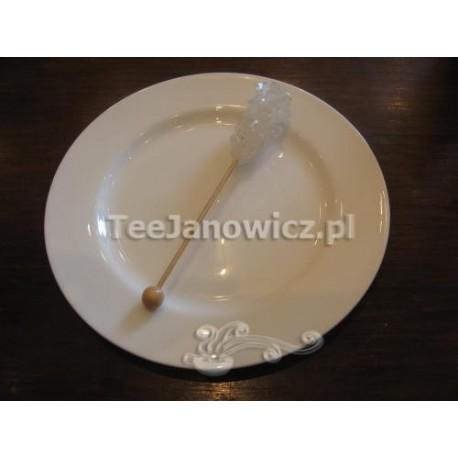 Pałeczki białego kandyzowanego cukru