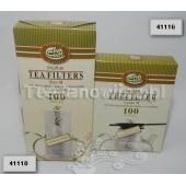 Filtry bezołowiowe o średnicy 13-8,7 cm (100 sztuk)