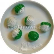 (słodycze) Bonbons o smaku eukaliptusa (bez cukru)