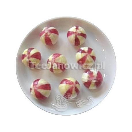 (słodycze) Bonbons o smaku wiśni i wanilii (bez cukru)