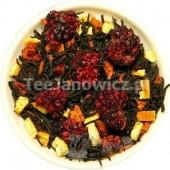 (czarna) Magia Świąt (malina w rumie i pieczone jabłko)