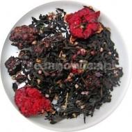 (czarna) Leśne Krasnoludki (jeżyna, granat i wrzos)